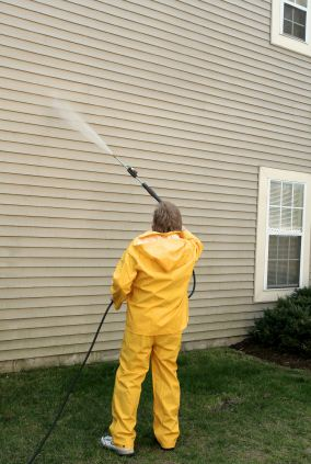 Pressure washing in Tucson, AZ by Bayze Painting LLC.
