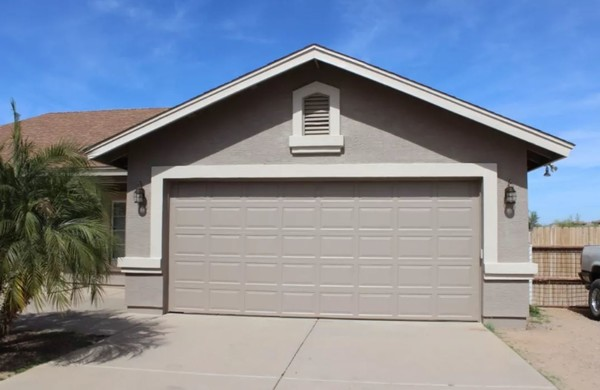Exterior painting in Tucson, AZ.
